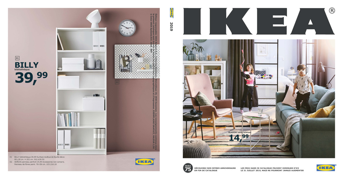 Le nouveau catalogue IKEA vous invite à l'intérieur