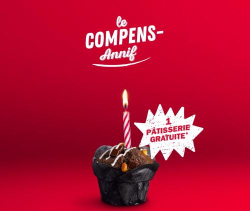 Happiness et Quick lancent le Compens-Annif pour tous ceux qui sont nés en décembre !