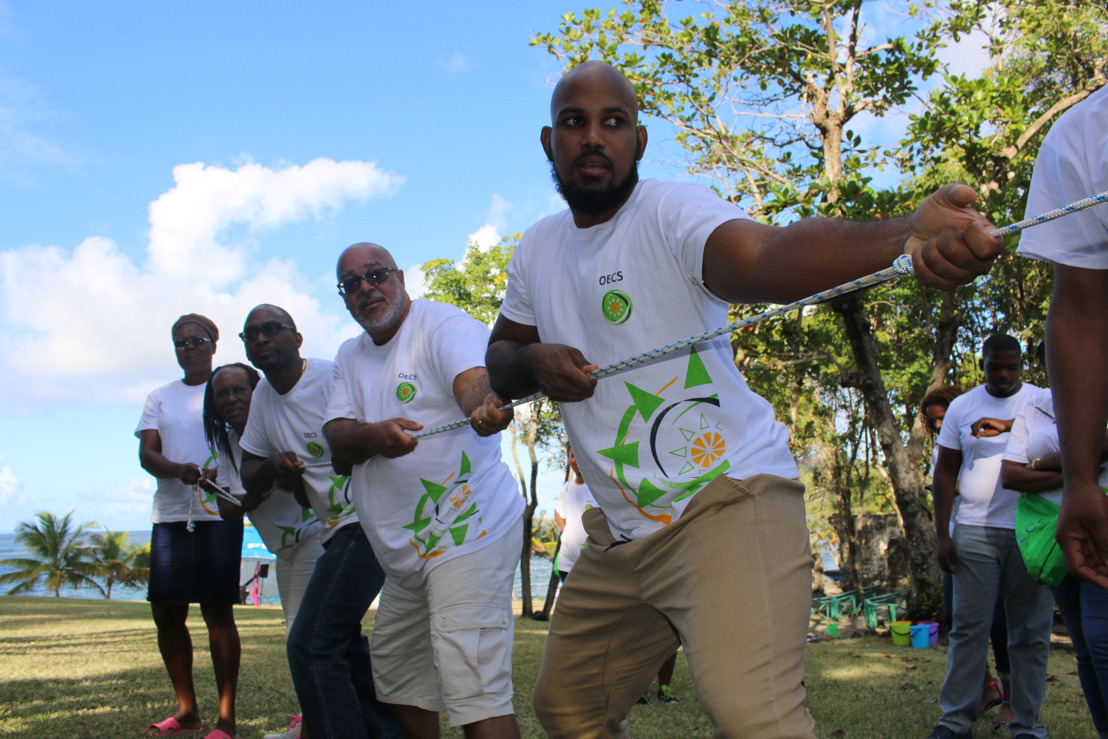 Staff of the OECS Commission embrace Team Beliefs and new Recognition Programme