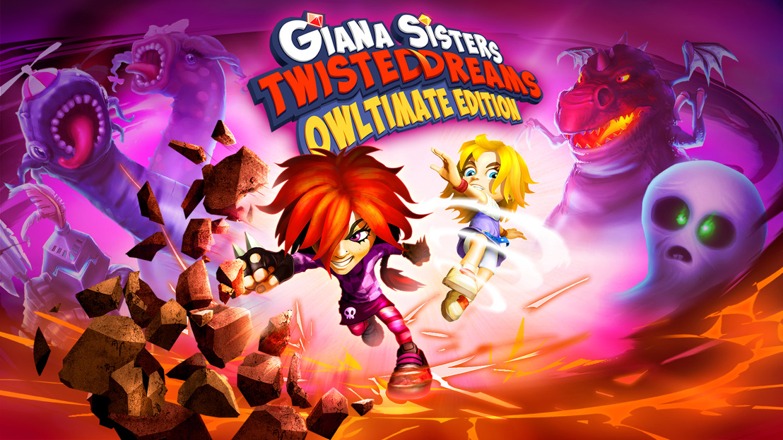 Giana Sisters: Twisted Dreams - Owltimate Edition out now on Nintendo™ Switch