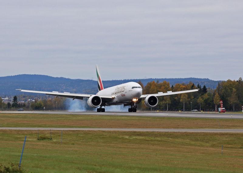 Emirates SkyCargo Weekly Freighter Service to Oslo Photo: Avinor Oslo Airport