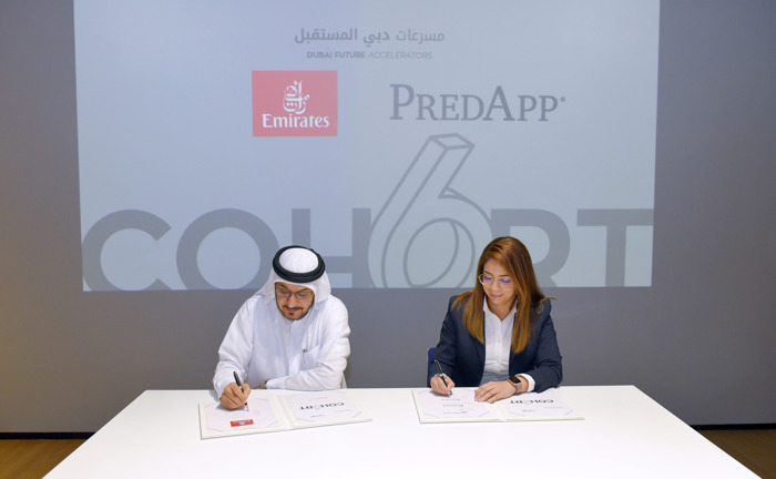 Emirates signs MoUs with three teams from Dubai Future Accelerators programme