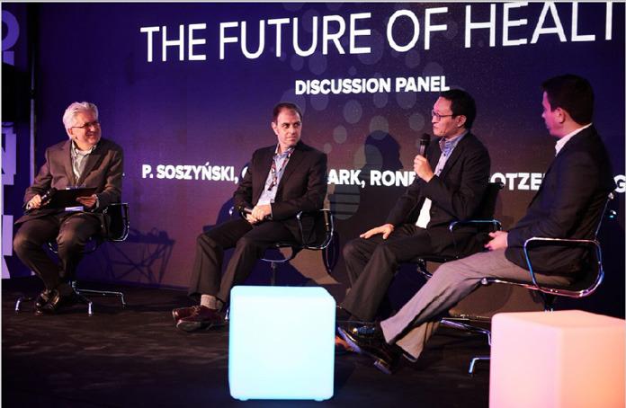 Charles Bark在奇点大学(Singularity University)讲述未来健康