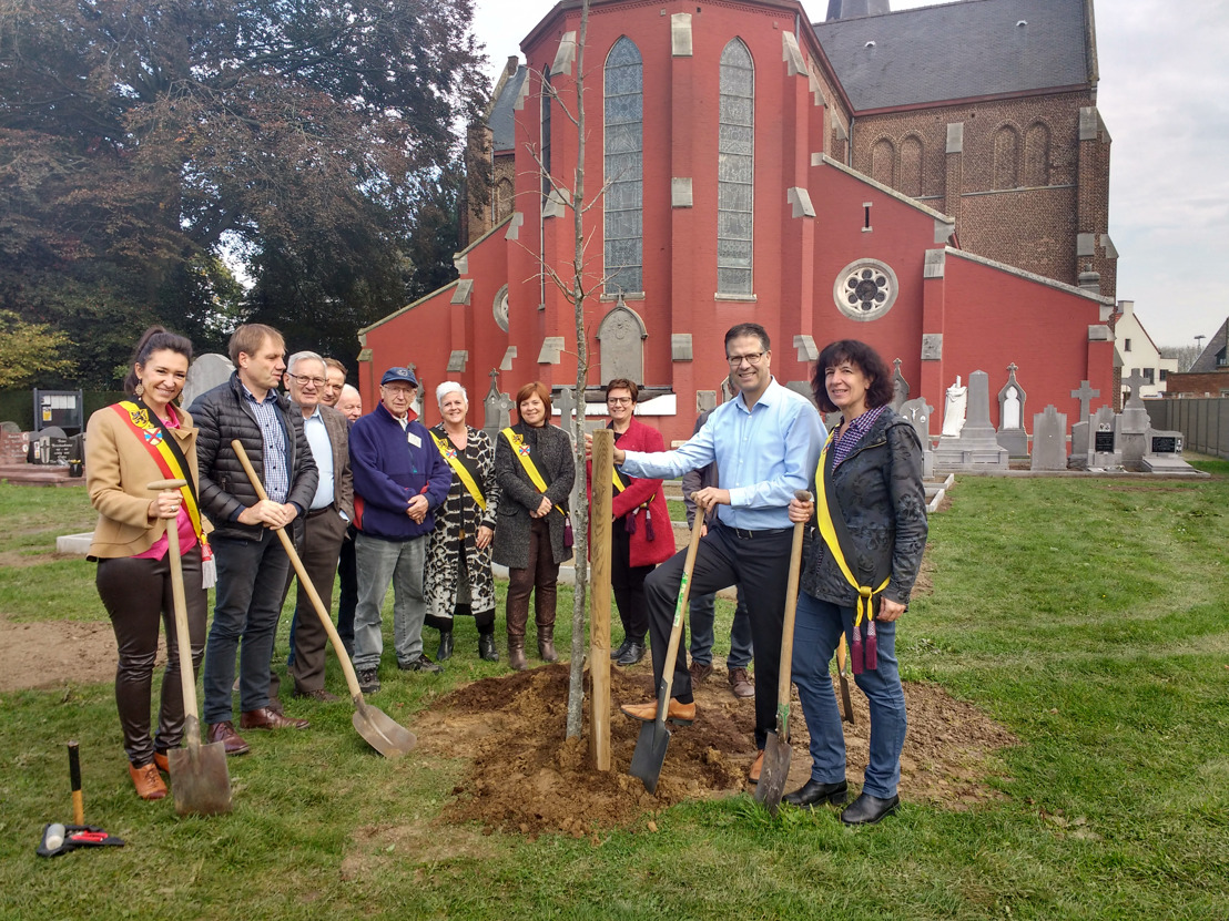 Waardevolle graven in Londerzeel Sint-Jozef hersteld