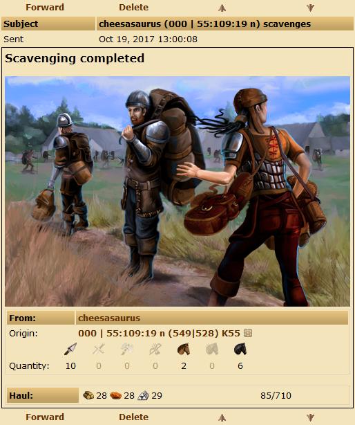 Tribal Wars - Scavenging
