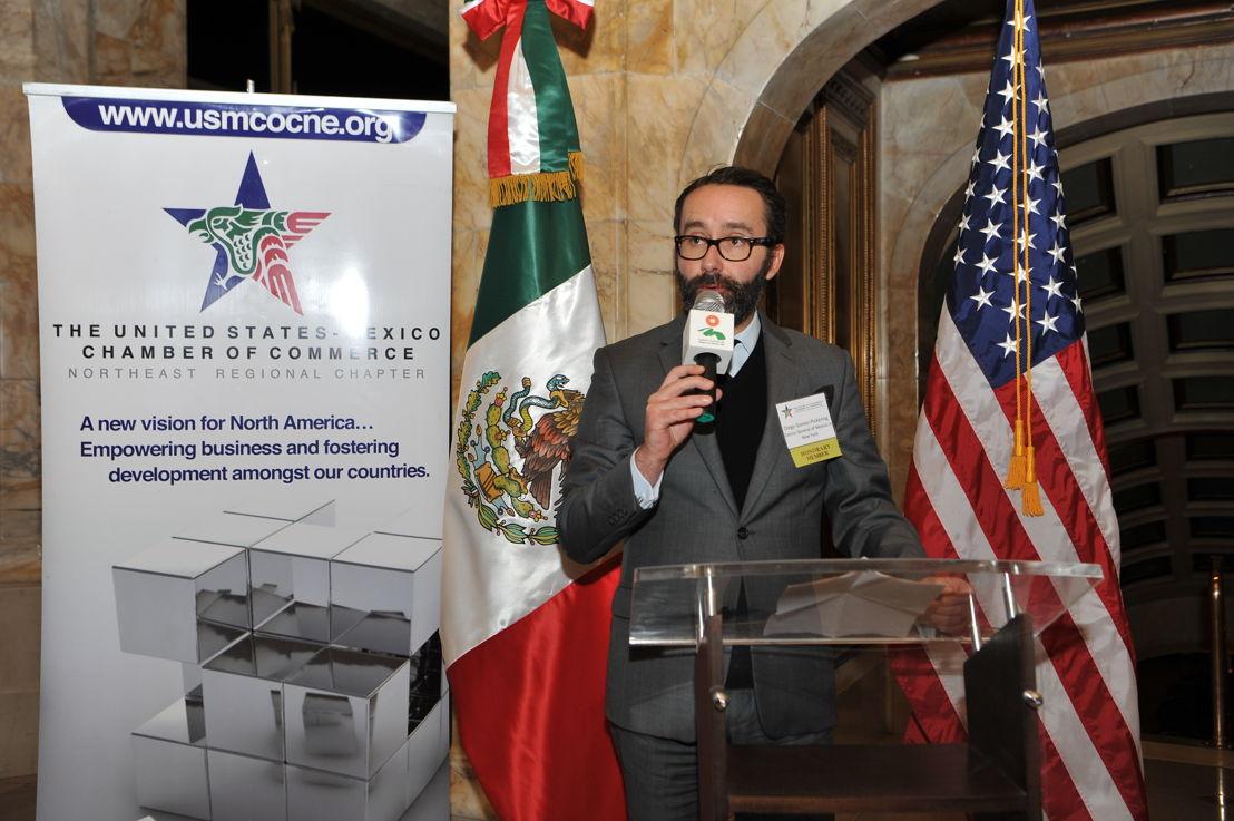 Diego Gómez Pickering, Cónsul General de México en Nueva York