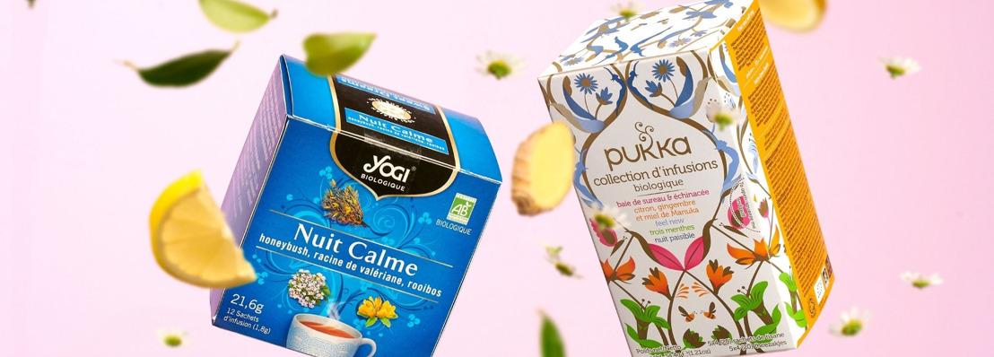 Évolution de 20% des volumes de thé chez Delhaize