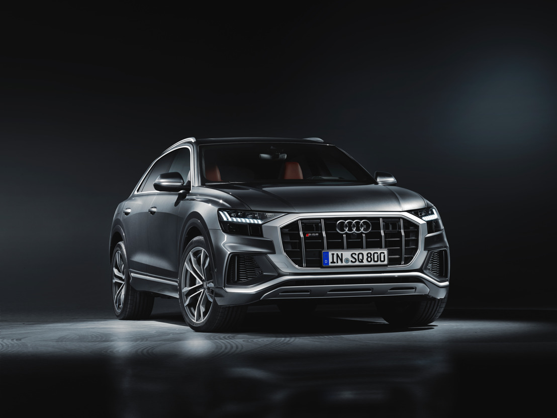 Un maximum de performances pour l'Audi SQ8 TDI