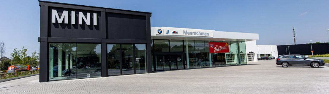 Une solution HVAC Daikin complète pour un garage BMW moderne situé à Alost