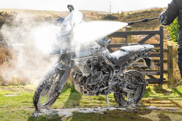 Preview: MUC-OFF To Introduce the World's First Moto-Specific Pressure Washer to USA