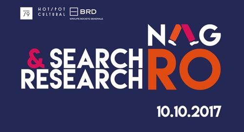 Marți, 10 octombrie, începând cu ora 16:00, vă invităm la discuția cu invitații din cadrul proiectului Search & Research RO, la Rezidența BRD Scena9