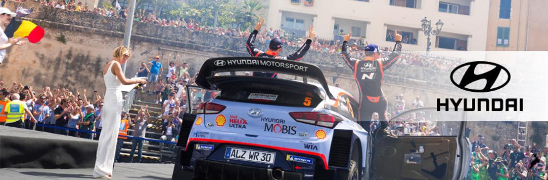Hyundai Shell Mobis WRT busca mantenerse en la cima del WRC durante el Rally de Finlandia