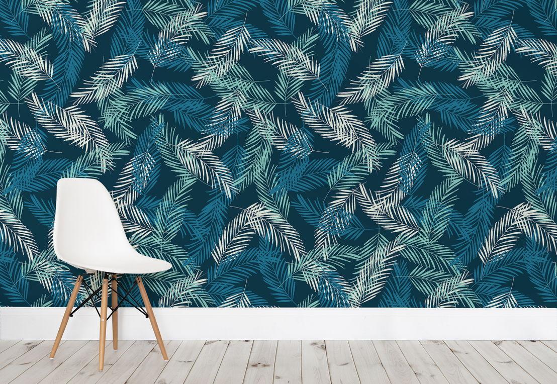 Areca Palm Leaves Wallpaper Mural