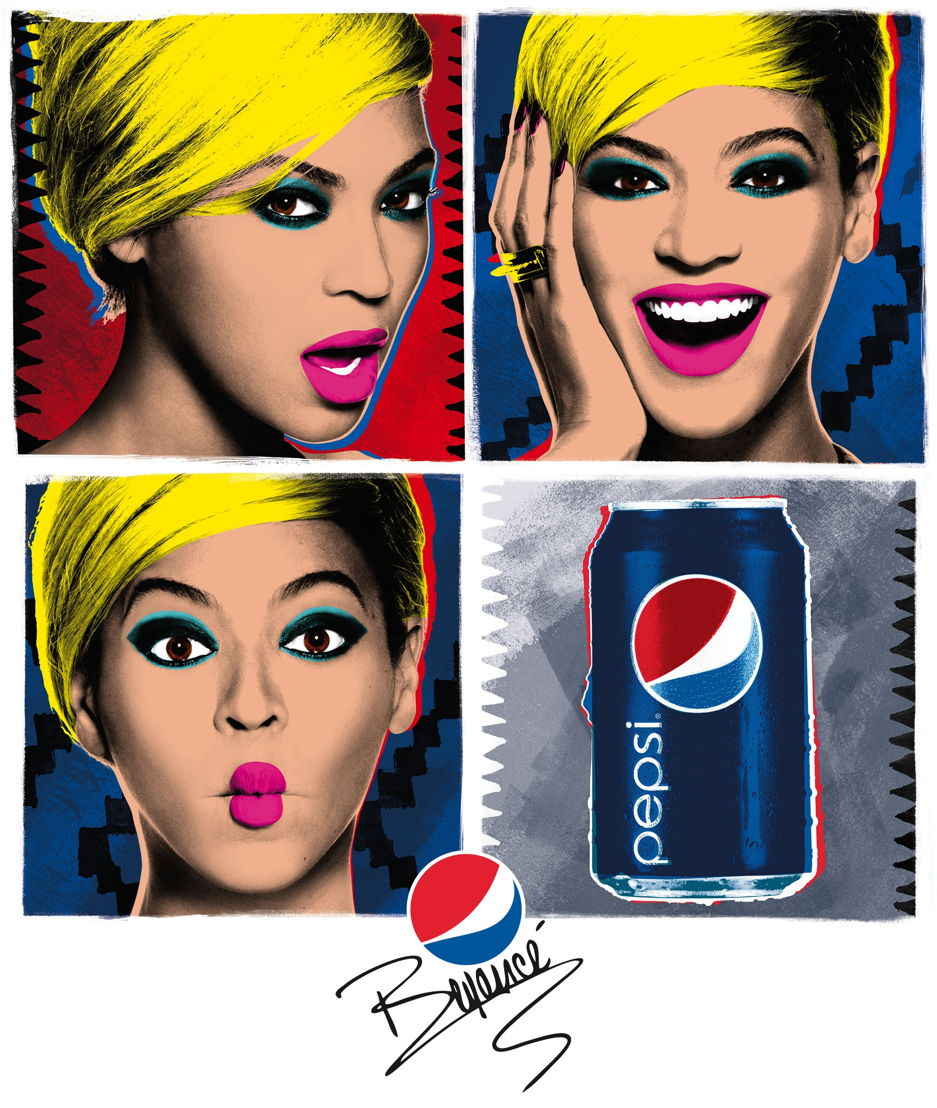 Beyoncé Pop Art