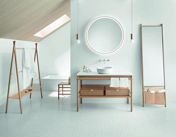 Zuivere badkamers met perfect design