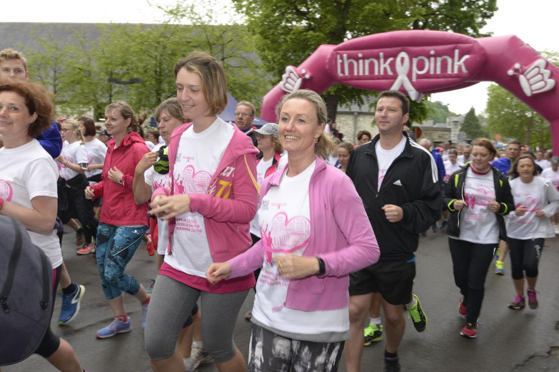 3000 participants à la Race for The Cure à Namur
