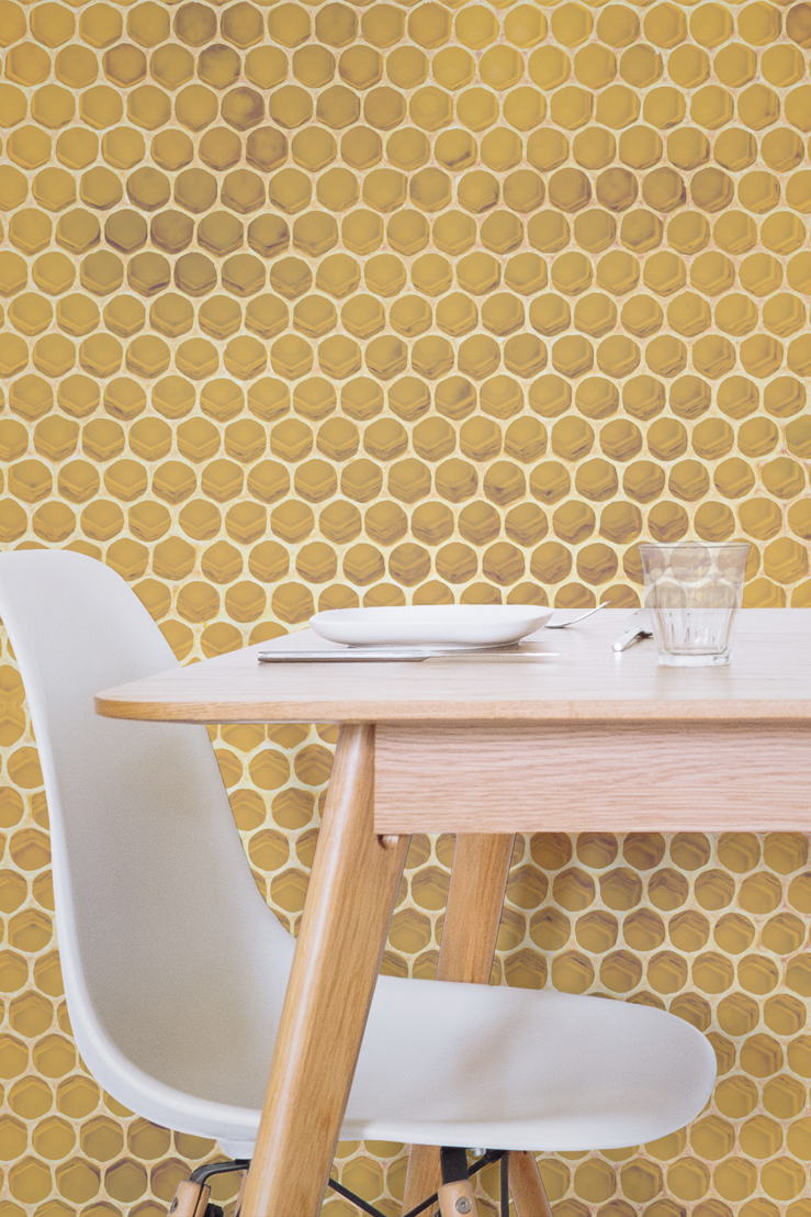 H is for Honeycomb