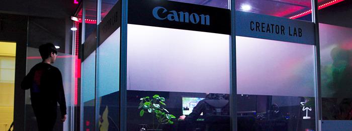 CANON CREATOR LAB LAUNCHES AT OVERACTIVE MEDIA HQ
