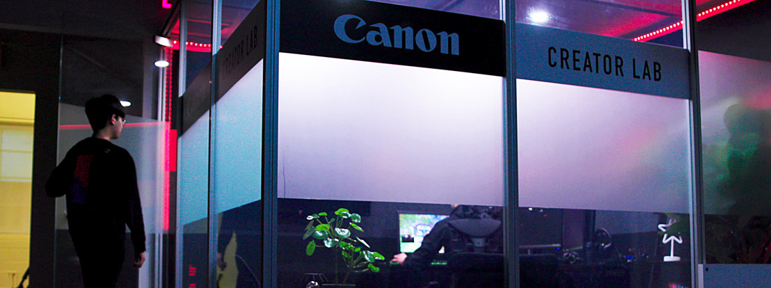 CANON CREATOR LAB LAUNCHES AT OVERACTIVE MEDIA HQ