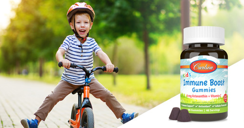 Carlson Introduces Kid's Immune Boost Gummies, the Ultimate Antioxidant Blend