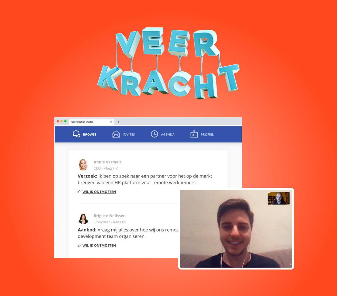 Online netwerkevent 'Veerkracht' verpulvert alle records