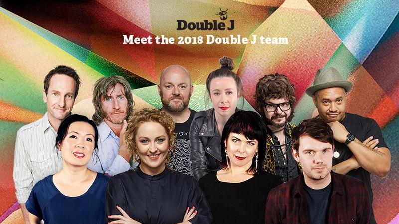 Double J 2018 Presenters