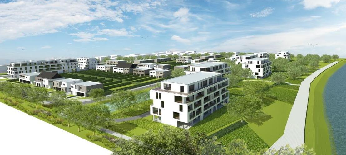 Durabrik woonproject 'Scheldehof': architecturaal pareltje betekent opwaardering van omgeving
