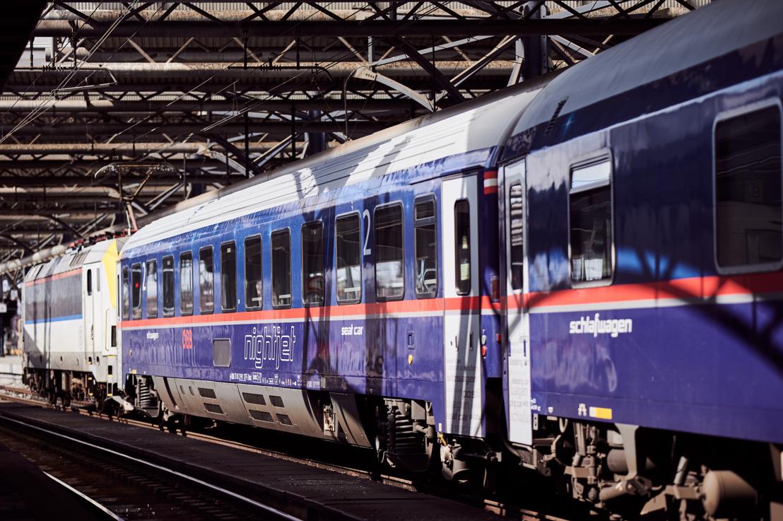 ÖBB & SNCB : le Nightjet Bruxelles - Vienne de retour sur les rails avec une offre élargie