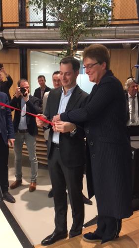 Ericsson verwelkomt consultancybedrijf AE en Hogeschool PXL als eerste bewoners op 5G Life Campus