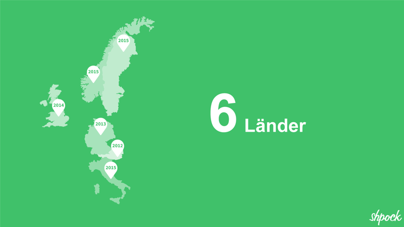 Shpock zählt in sechs Ländern zu den Top-Shopping-Apps.