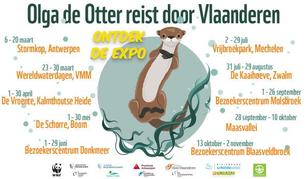 WWF, The Oval Office en Olga de Otter reizen door Vlaanderen.