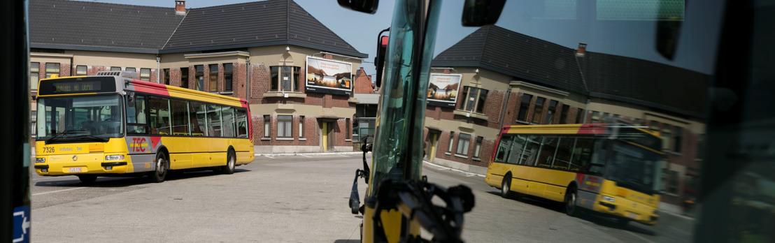 1er septembre 2019 : modifications horaires sur certaines lignes du TEC de l'entité de Charleroi