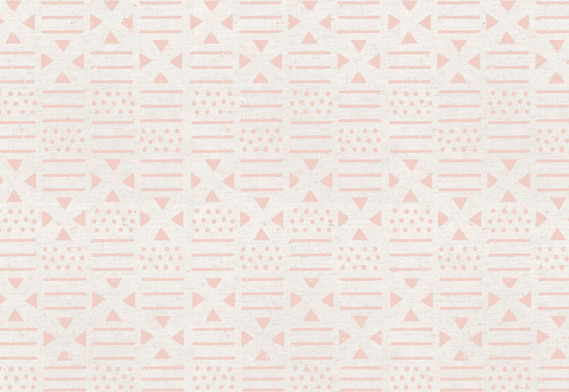 Pink Pattern Tribal Canvas Wallpaper