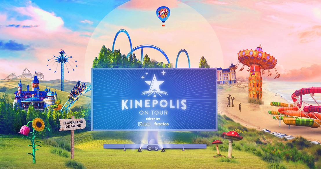 Kinepolis On Tour installe un drive-in à Plopsaland De Panne pendant les vacances de Pâques