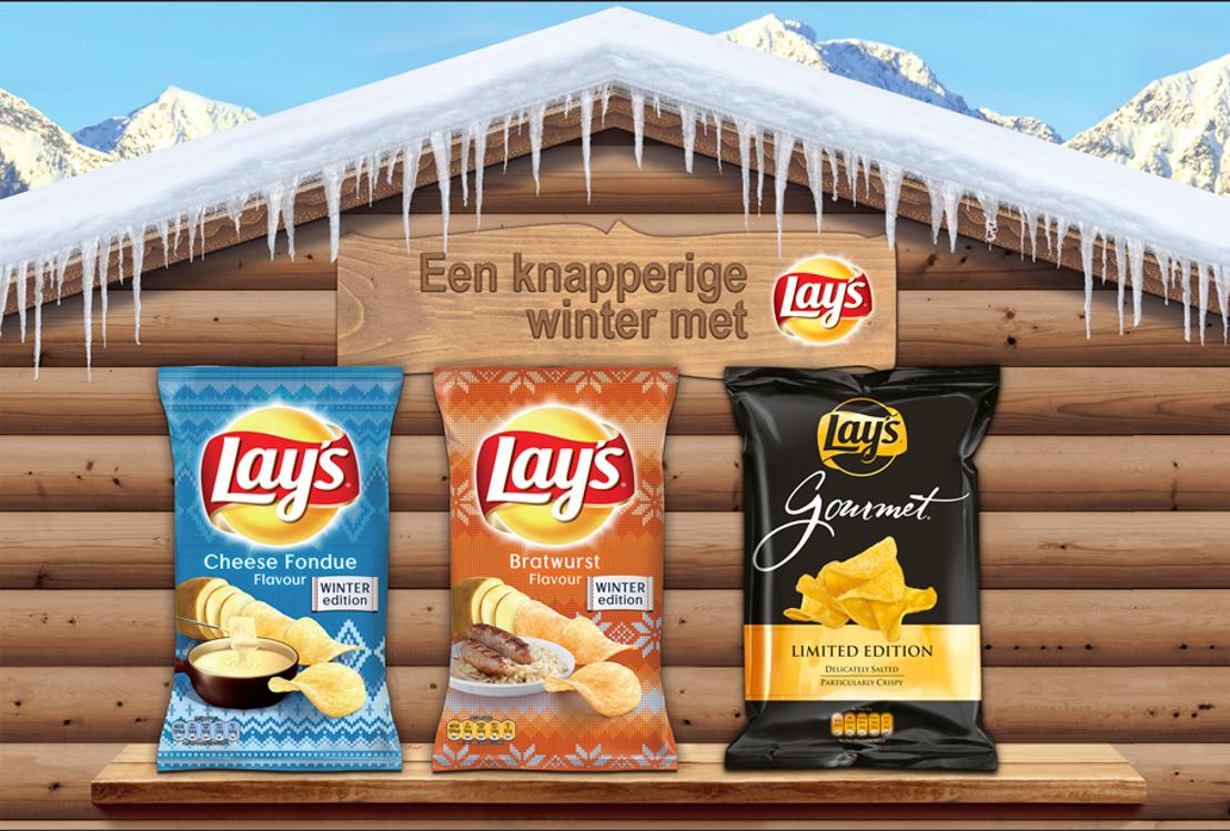 De winter innovaties van PepsiCo: Lay's Gourmet – Lay's Winter Editions