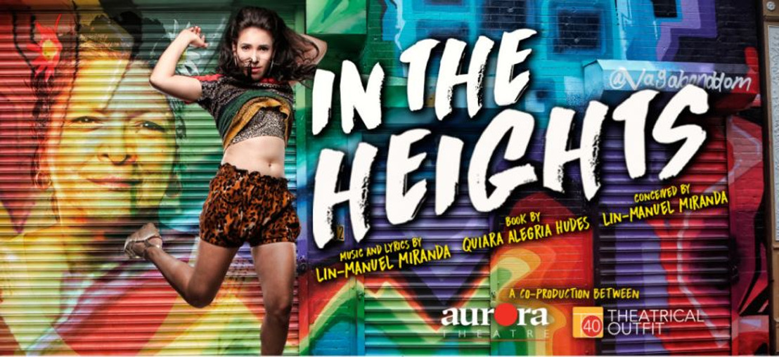 Aurora Theatre launches 2016-17 Signature Series with Lin-Manuel Miranda's In the Heights, July 21- August 28