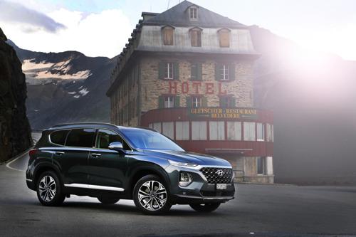 Euro NCAP: la meilleure note pour All-New Hyundai Santa Fe