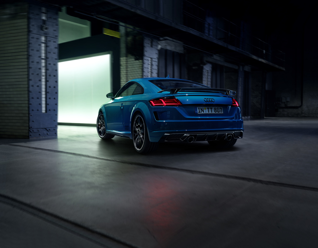 Great attention to detail and even sharper: The Audi TT S line competition plus