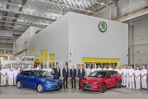 Start of production of new SCALA compact car at ŠKODA AUTO in Mladá Boleslav