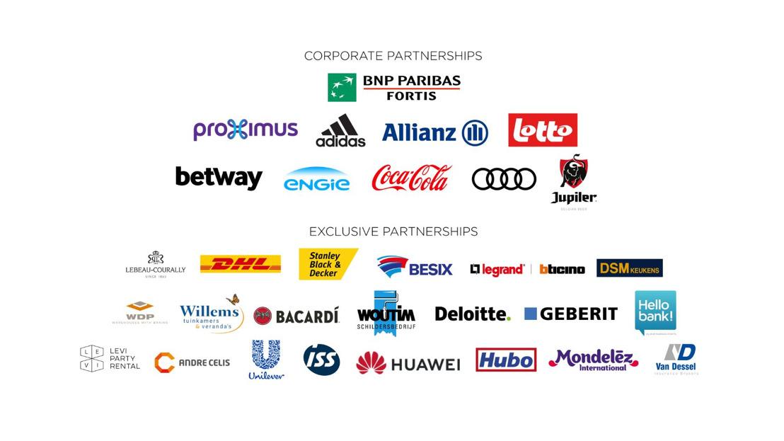 18 nouveaux partenaires pour le RSC Anderlecht