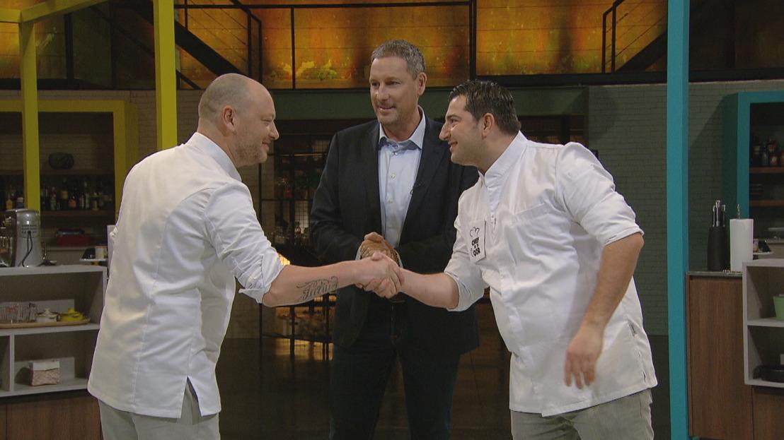 Chef in je Oor gaat van start met een culinaire vendetta tussen Dominique Persoone en Peppe Giacomazza