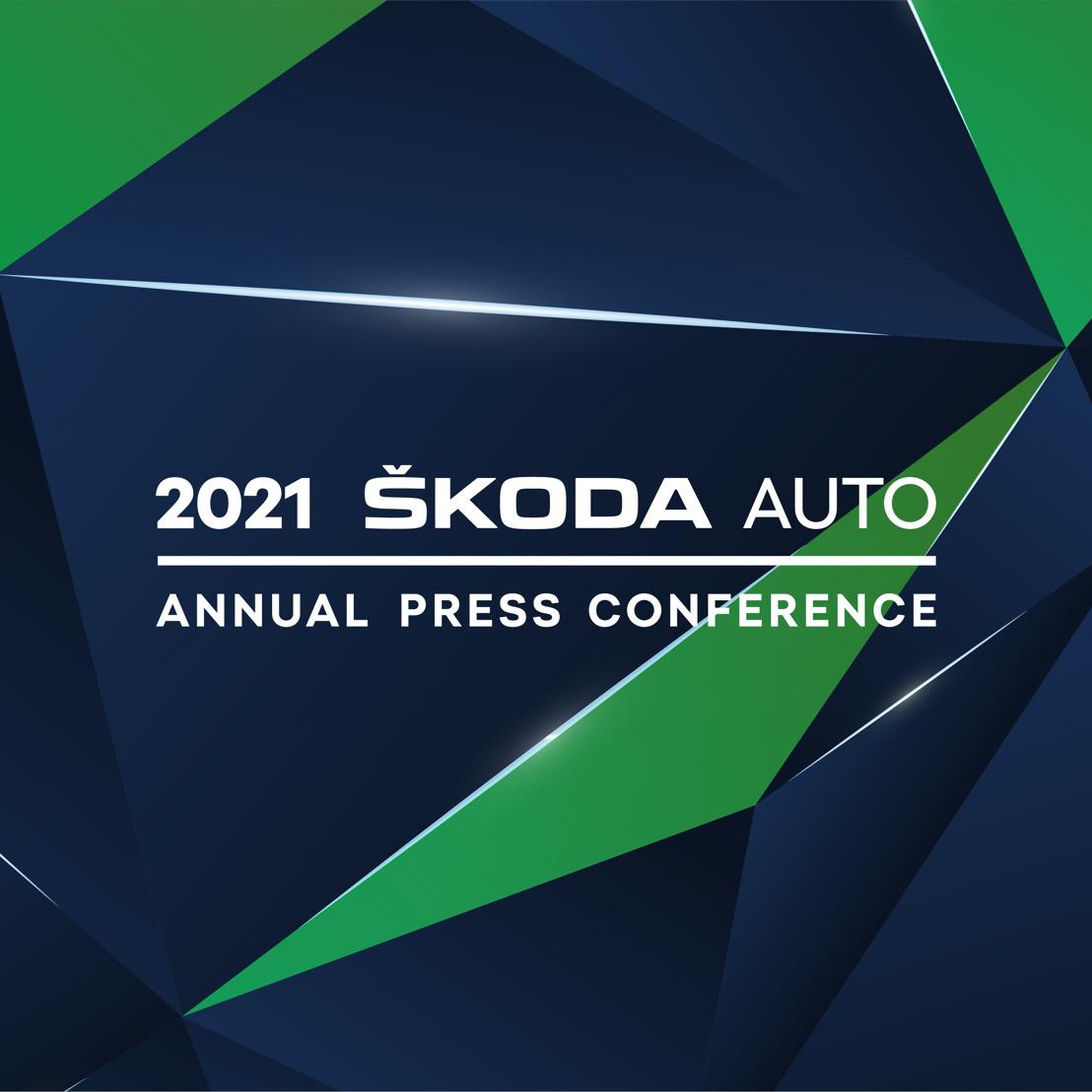 ŠKODA AUTO invites journalists to the digital annual press conference