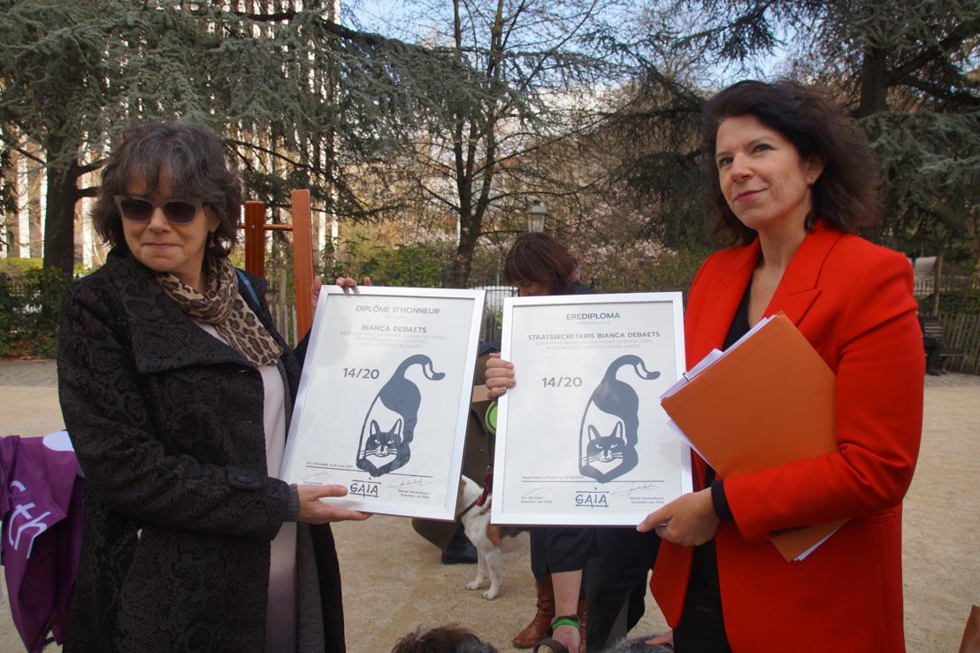 Ministers van Dierenwelzijn krijgen hun eindrapport van GAIA