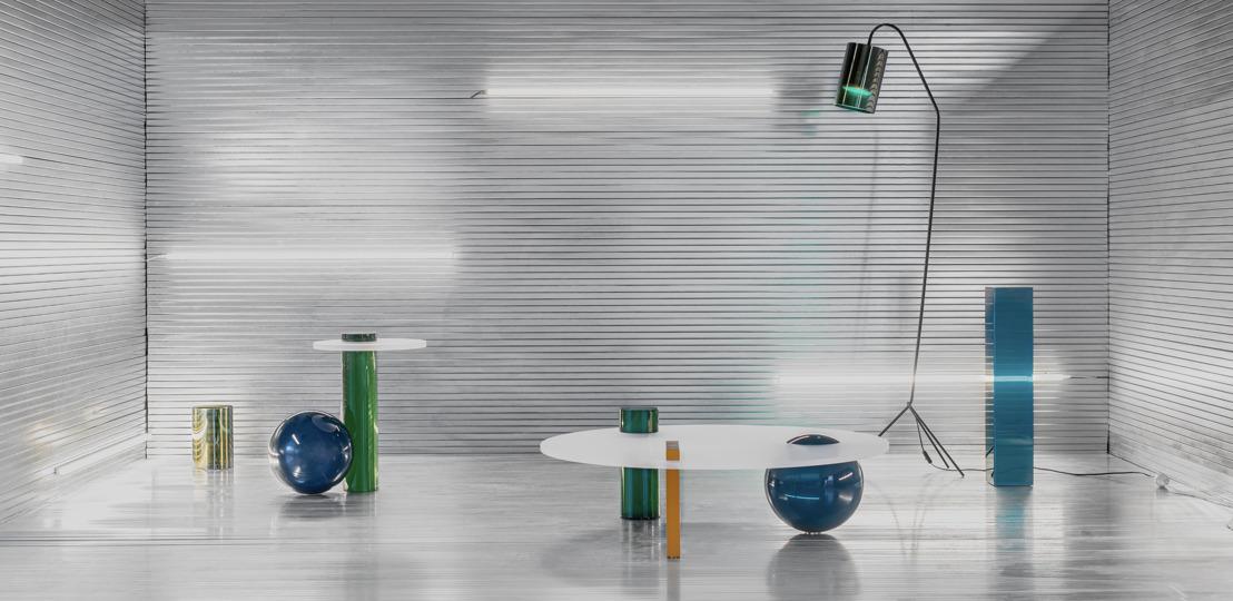 Cobra Studios lanceert eerste meubelcollectie: speelse en sculpturale objecten geïnspireerd op de klassieke Romeinse architectuur