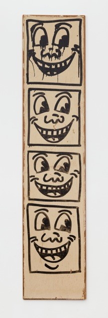 """""""Totem"""" (1982) by Keith Haring"""