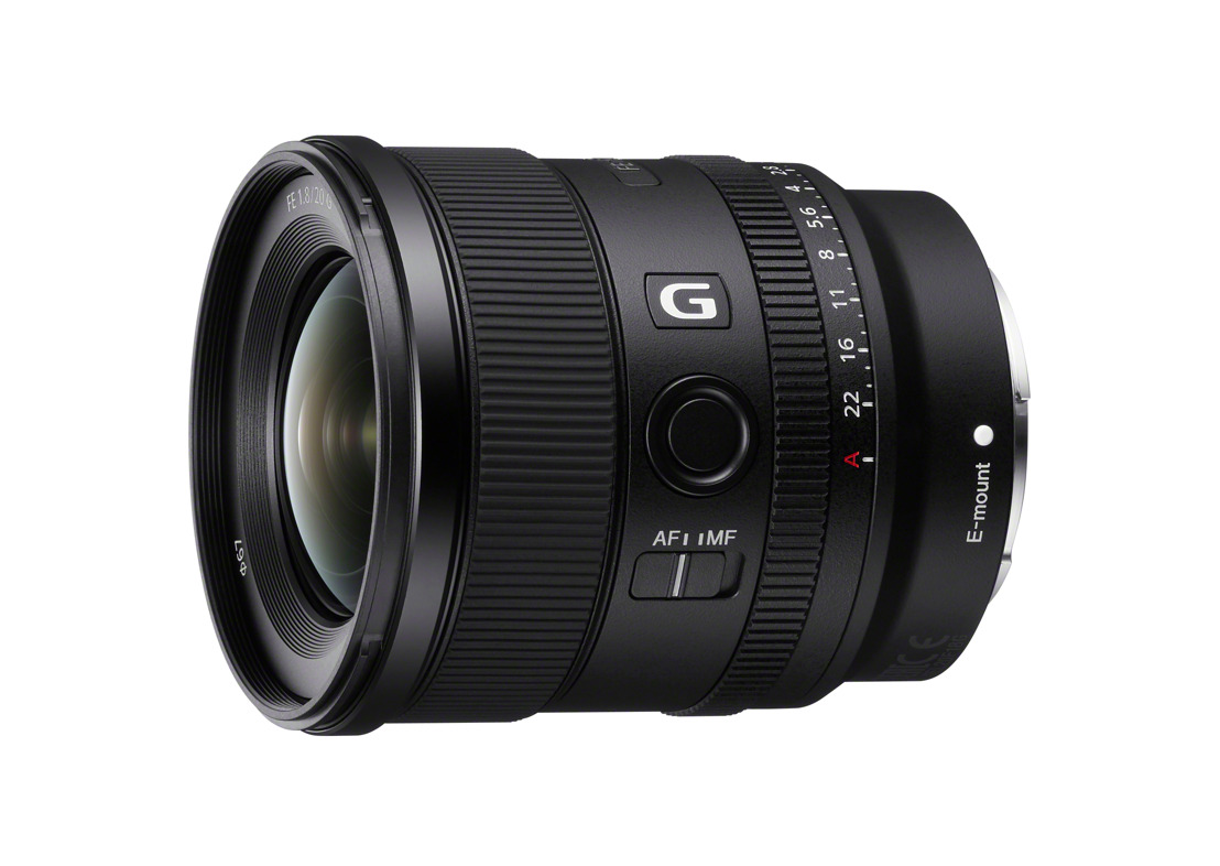 Sony Expands Full-Frame Lens Line-up with Introduction of New Large-aperture Ultra-wide-angle Prime Lens