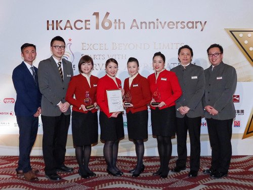Cathay Pacific wins four awards at Hong Kong Customer Service Excellence Awards