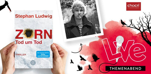 Krimi-Special: Stephan Ludwig liest bei Hugendubel