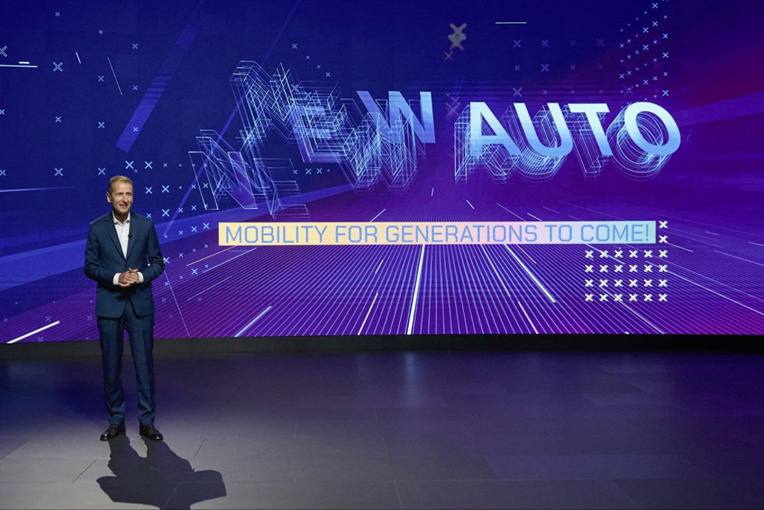 NEW AUTO : le Groupe Volkswagen déploie de nouveaux moteurs de valeur pour l'avenir autonome et sans émissions de la mobilité