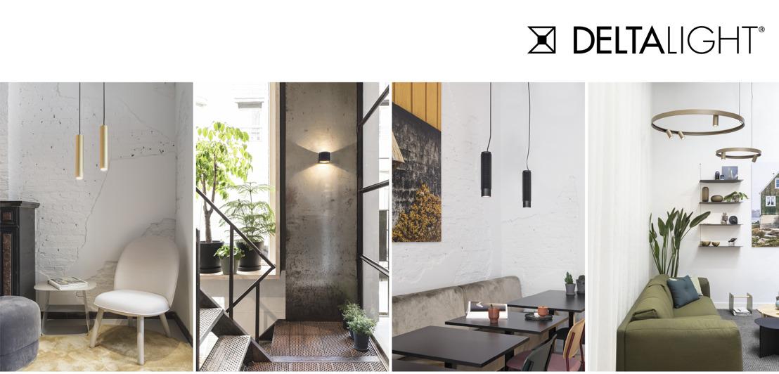 Delta Light présente de nouvelles gammes d'éclairage à la Biennale INTERIEUR à Courtrai :